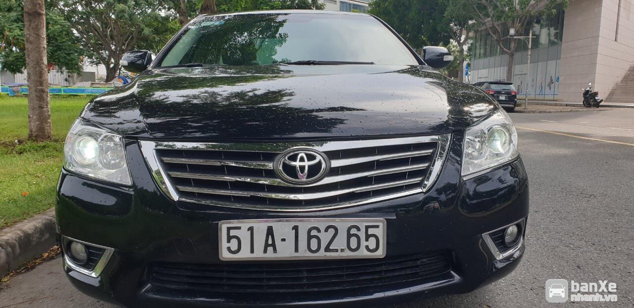 bán Toyota Camry 2.4G SX năm 2011, ĐK cuối 2011 màu đen, số tự động.