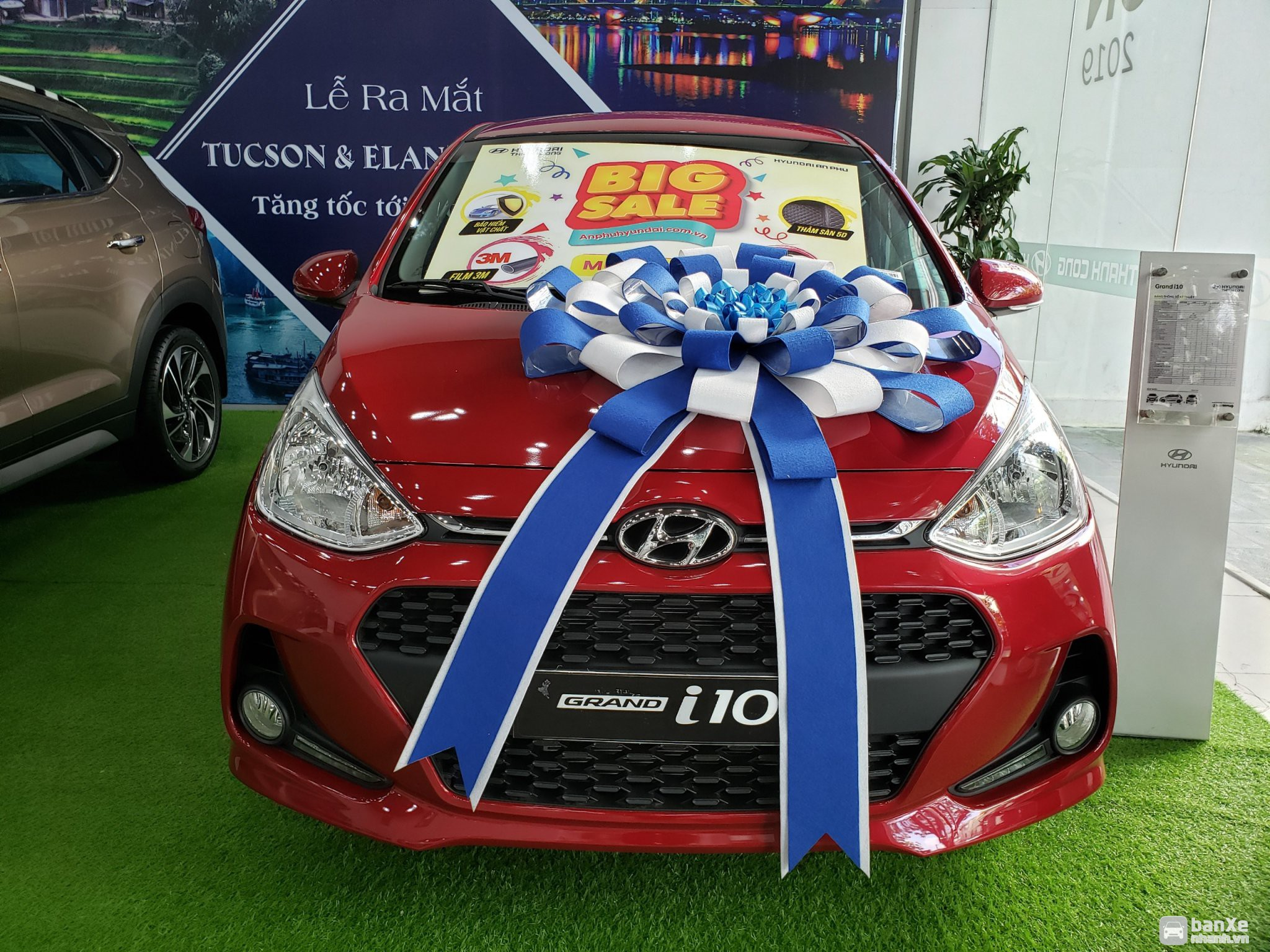 Hyundai I10 mẫu xe VUA phân khúc kinh doanh Grab, ưu đãi sâu Tháng 8
