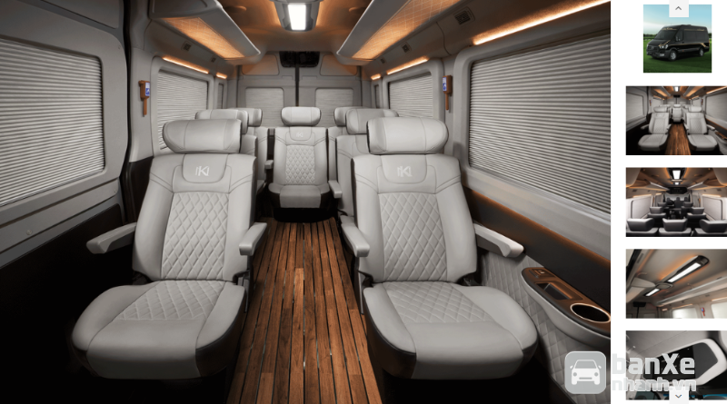 Tặng 100% chi phí đăng ký xe Noble Klasse Solati Limousine