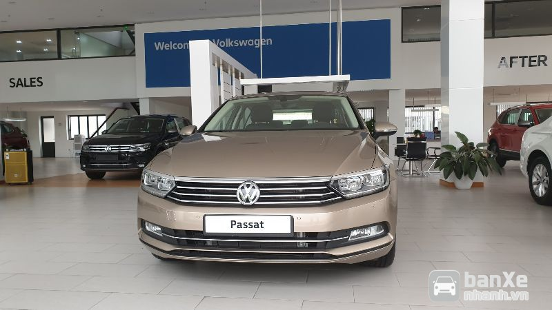 Volkswagen Passat GP nhập khẩu, màu vàng cát quà tặng khủng