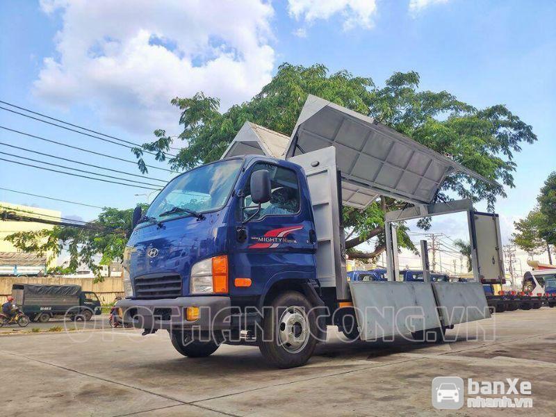 Xe tải hyundai mighty n250sl 2 tấn 4 thùng kín cánh dơi