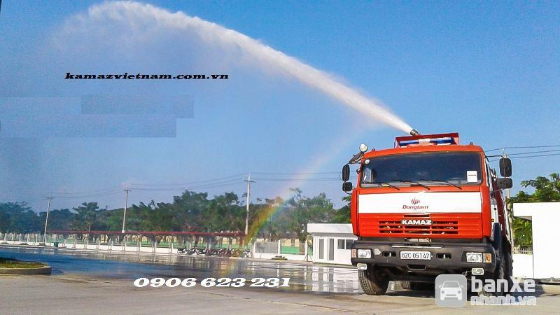 Xe cứu hoả Kamaz bồn 8m3 / Bán xe chưa cháy Chuyên dụng 8m3 nhập khẩu