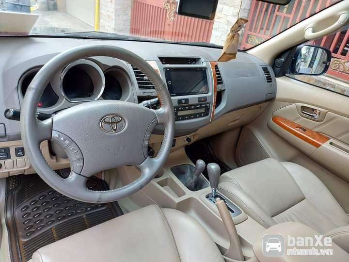 Bán Toyota Fortuner 2.7V bản cao cấp sx 2009
