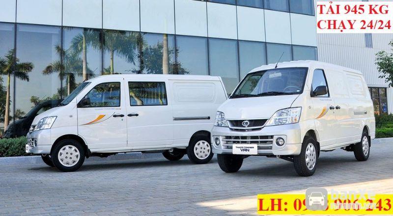 Xe Tải Thaco Towner Van ưu đãi trong tháng