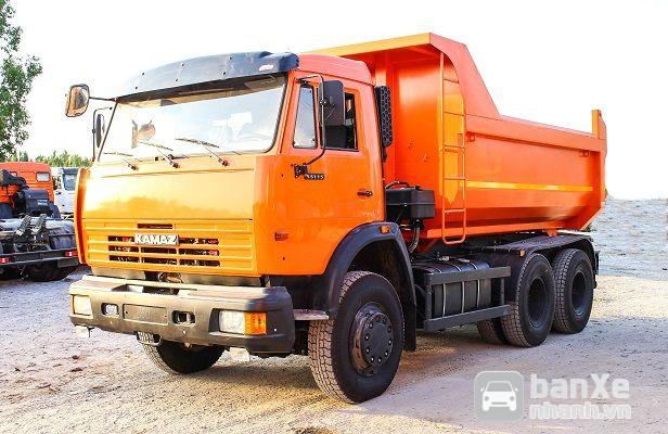 Xe Ben Kamaz 65115 Được Nhập Khẩu Từ CHLB Nga