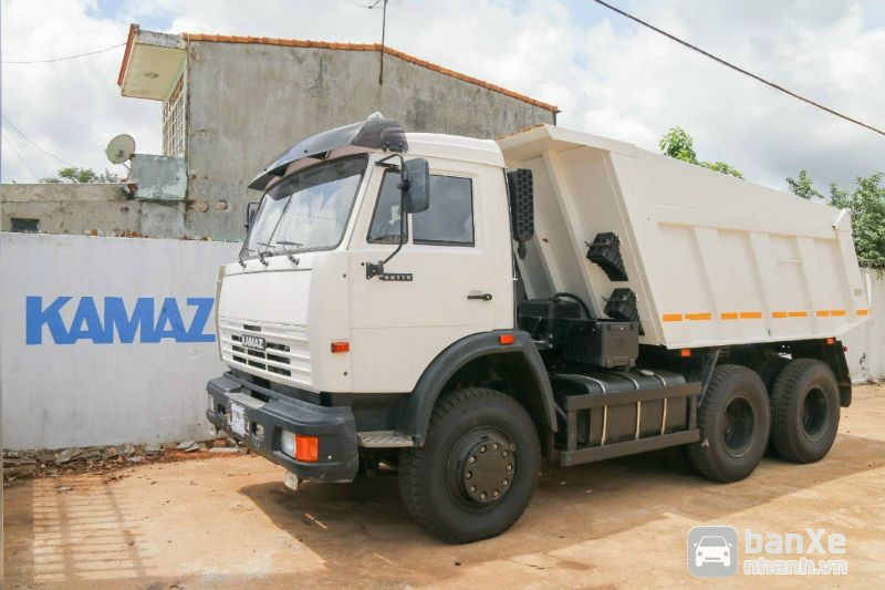 Xe tải ben Kamaz tải trọng cao giá ưu đãi mùa dịch